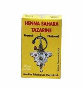 Henné Sahara Tazarine corps et cheveux 100g