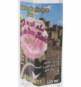 Eau de rose en spray du Maroc 125 mL