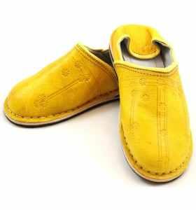 Babouches Amazigh jaune