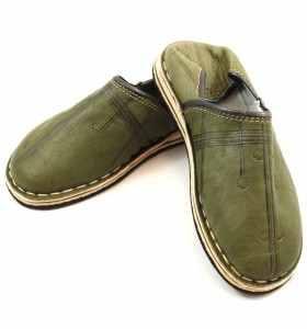 Babouches Amazigh kaki
