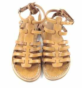 BSIM Sandals made of CamelLeather