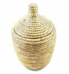 Basket made of Natural Wicker