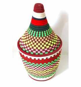 Corbeille ethnique berbère Ahlam