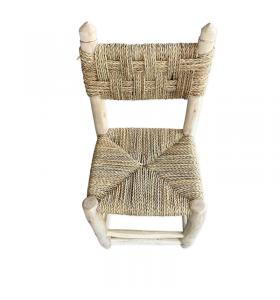 Petite chaise boucherouite boucharouette Gnawa