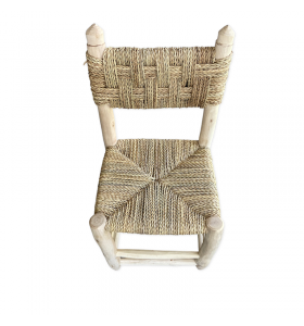 Small Chair (Boucherouite) by Gnawa