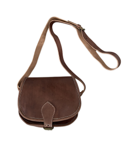 Bag made of Brown Leather...