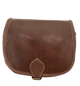 Bag made of Brown Leather by Ourika L