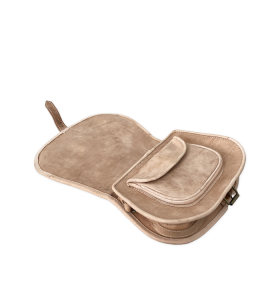 Bag made of Brown Leather by Ourika M