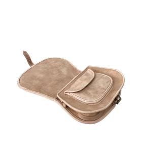 Bolso Ourika de cuero marrón talla M