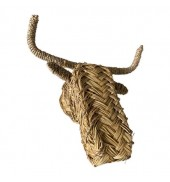 trophy, bull animal head