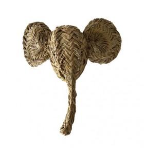 Trophy, small elephant animal head