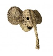 Trophy, small elephant...