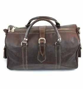 Travel Bag made of Leather for the Week-ends by Jemaa