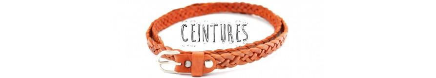 Cinturones--Marroquinería