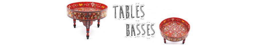 Tables basses--Décoration intérieure