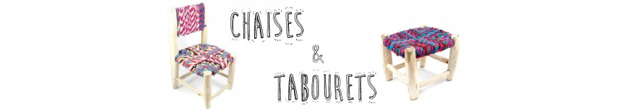 Chaises & tabourets--Décoration intérieure